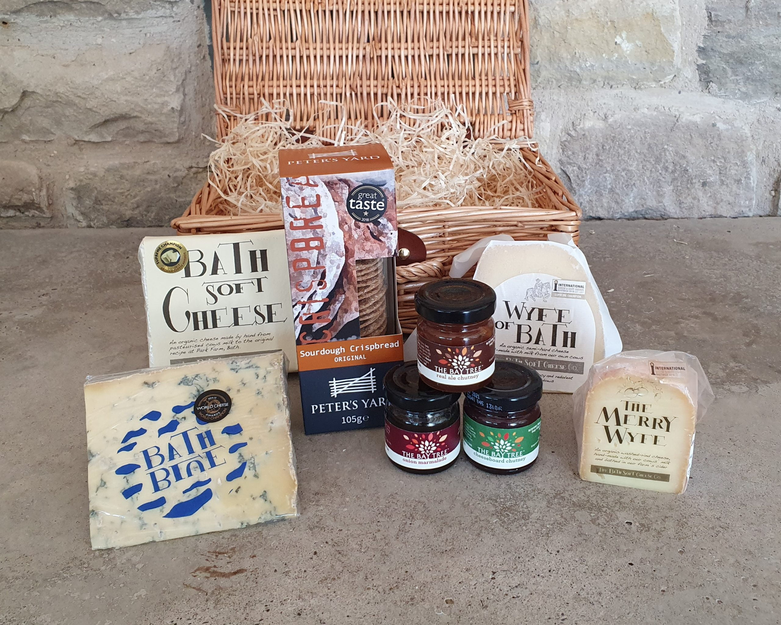 Kelston Calf Hamper Bath Soft Cheese Company